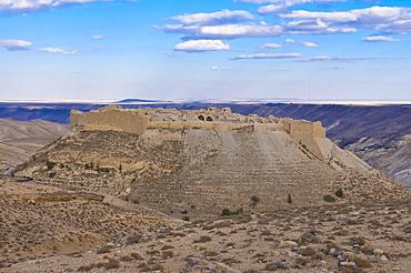 Old crusader castle, Shobak, Jordan, Middle East