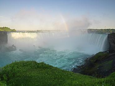 Canadian Falls also known as the Horseshoe Falls, Niagara Falls, Ontario, Canada, North America
