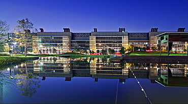 George R. Brown Convention Center at dawn, Houston, Texas, United States of America, North America
