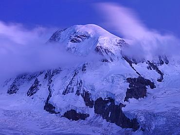 Mount Breithorn, Gornergrat, Zermatt, Valais, Swizerland, Europe