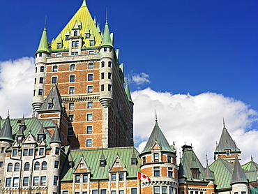 Chateau Frontenac, UNESCO World Heritage Site, Quebec City, Quebec, Canada, North America