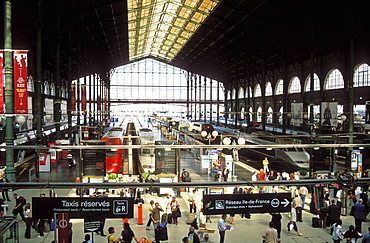 Gare du Nord train station, Paris, France, Europe