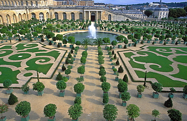 The Gardens of Versailles and The Orangery, UNESCO World Heritage Site, Versailles, France, Europe