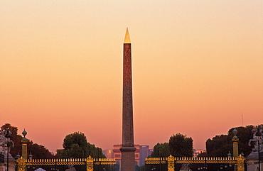 Obelisk, Place de la Concorde, Paris, France, Europe