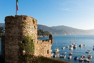 The 16th century castle, Santa Margherita Ligure, Genova (Genoa), Liguria, Italy, Europe