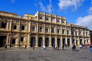 Ayuntamiento, Plaza de San Francisco, Seville, Andalucia, Spain, Europe