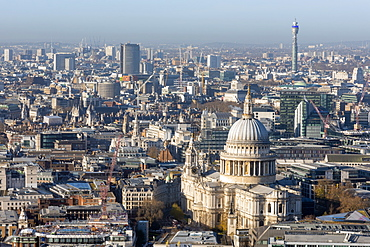 St. Paul's Cathedral, City of London, London, England, United Kingdom, Europe