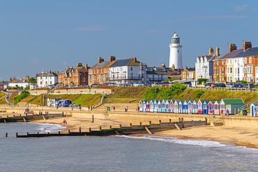 Southwold Lighthouse, Southwold, Suffolk, England, United Kingdom, Europe
