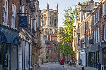 Trinity Street, St. John's College, Cambridge, Cambridgeshire, England, United Kingdom, Europe