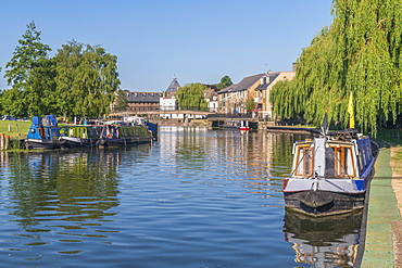 River Great Ouse, Ely, Cambridgeshire, England, United Kingdom, Europe