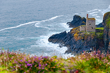 Botallack Mine, UNESCO World Heritage Site, Cornwall, England, United Kingdom, Europe