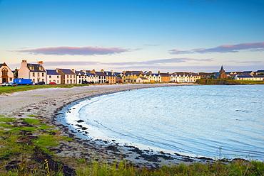 Frederick Crescent, Port Ellen, Loch Leodamais, Islay, Argyll and Bute, Scotland, United Kingdom, Europe