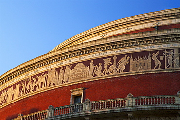 Exterior of Royal Albert Hall, Kensington, London, England, United Kingdom, Europe