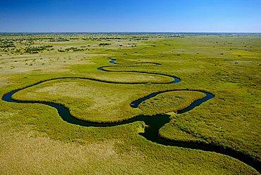 Snake River, Botswana, Africa
