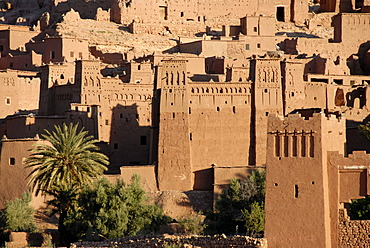 Traditional Berber architecture Kasbah Ait Benhaddou Morocco