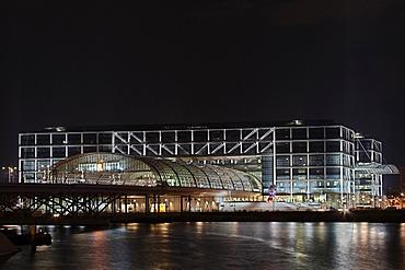 Berlin central station, rear, Berlin, Germany, Europe