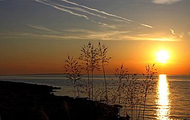 Sunset, Vir Island, Dalmatia, Croatia, Europe