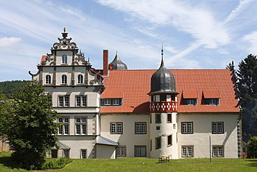 Castle in Buchenau, Eiterfeld municipality, Rhoen, Hesse, Germany, Europe