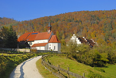 Hiking trail in the danube valley - Baden-Wuerttemberg, Germany, Europe.