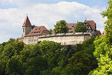 Veste Coburg castle, Coburg, Upper Franconia, Franconia, Bavaria, Germany, Europe