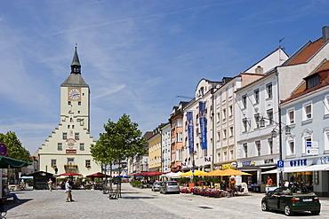 Deggendorf old Town Hall Lower Bavaria Germany