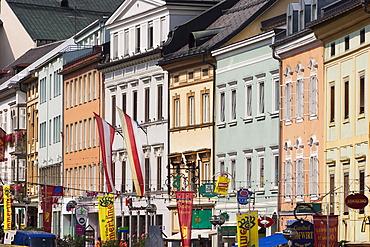 City centre of Villach in Carinthia - Austria