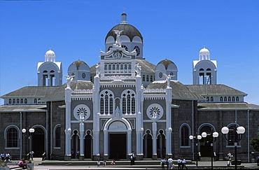 Basilica de Nuestra Senora de los Angeles in Cartago - Costa Rica