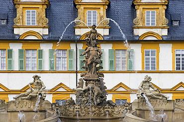 Castle Seehof in Memmelsdorf Franconia Bavaria Germany