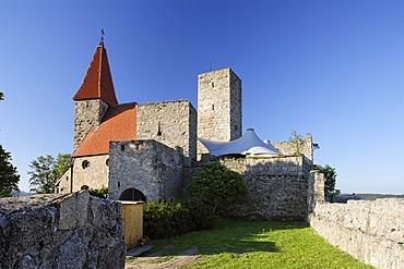 Leuchtenberg castle , Upper Palatinate , Bavaria Germany