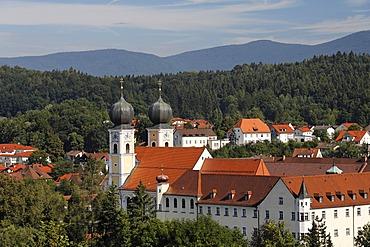 Monastery in Metten, Lower Bavaria, Germany