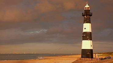 Lighthouse at the Westerschelde, Zeeland The Netherlands