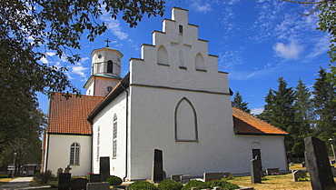 Fortified church on the island Oland, Sweden