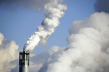 Smoking industry chimney