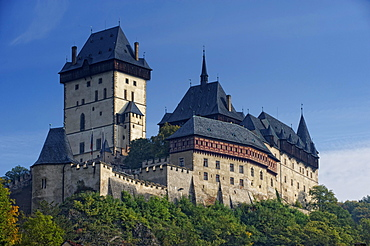 Karlstejn Castle, Karlstejn, Czech Republic, Europe