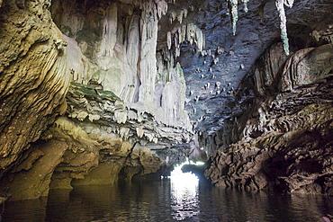 Stalactite Cave, Boron Thor, Ban Bo Tho, Krabi, Thailand, Asia
