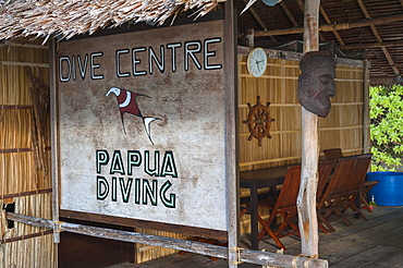 Papua Diving Resort, Raja-Ampat, Kri, Dampier Strait, Western New Guinea, Indonesia, Asia
