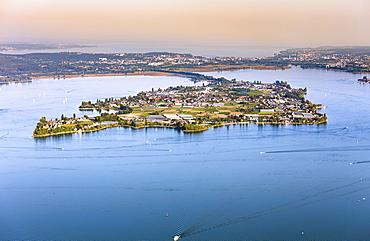 Reichenau Island, Konstanz and Upper Lake, Lake Constance, Baden-Württemberg, Germany, Europe