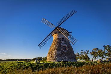 Dutch windmill, Kuremaa, Estonia, Europe