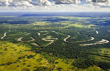Rio Aquidauana, Pantanal, Mato Grosso do Sul, Brazil, South America
