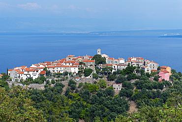 View of Beli, Cres Island, Kvarner Gulf Bay, Croatia, Europe