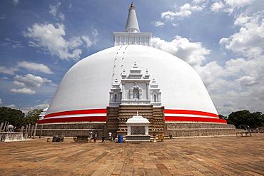 Ruwanwelisaya, Rathnamali Dagaba, Sacred City of Anuradhapura, North Central Province, Sri Lanka, Asia