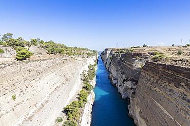 Isthmus of Corinth, Corinth, Greece, Europe