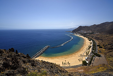 Playa de las Teresitas, beach, San Andres, Tenerife, Canary Islands, Spain, Europe