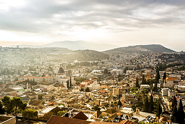 City view, Nazareth, Israel, Asia