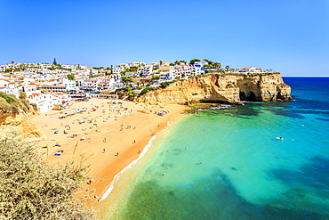 Beach, Carvoeiro, Algarve, Portugal, Europe