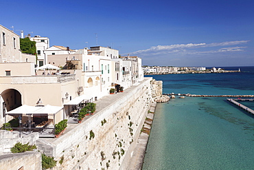 Historic centre of Otranto, Province of Lecce, Salentine peninsula, Apulia, Italy, Europe