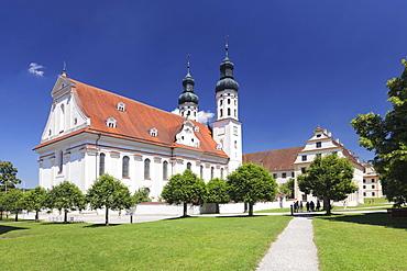 Monastery Obermarchtal, Alb Donau Kreis, Upper Swabia, Baden-Württemberg, Germany, Europe