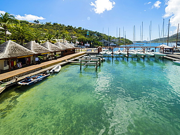 Nelson's Dockyard, English Harbour, West Indies, Antigua, Antigua and Barbuda, Central America