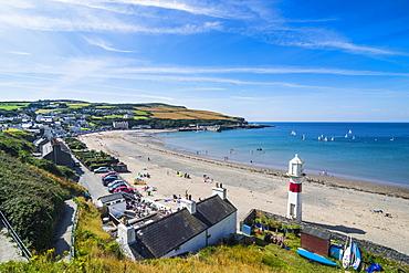 Beach of Port Erin, Isle of Man, United Kingdom, Europe