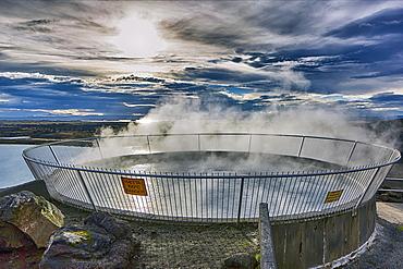 Myvatn Natural Bath, geothermal spring, Reykjahlíð, Mývatni, Island
